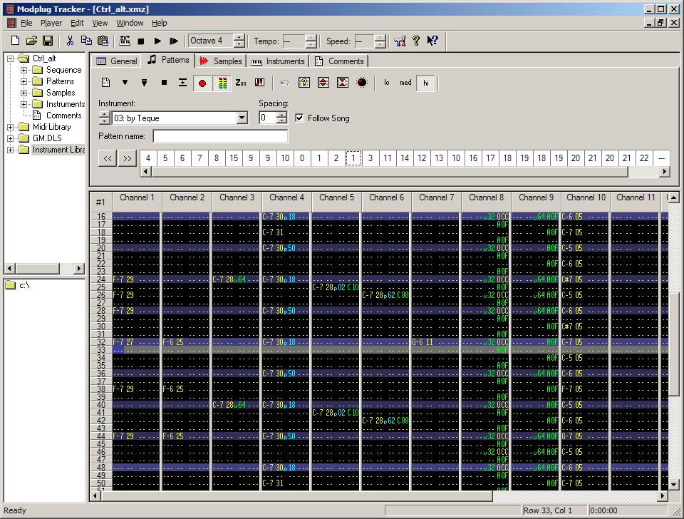 ModPlug Tracker