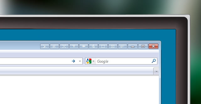 Nuovi pulsanti alle schede di Windows 7