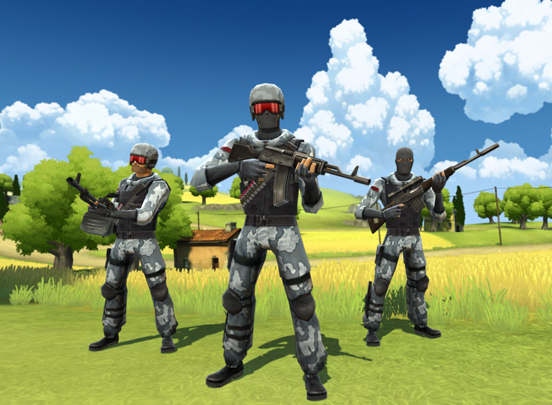 Battlefield Heroes sparatutto gratis.