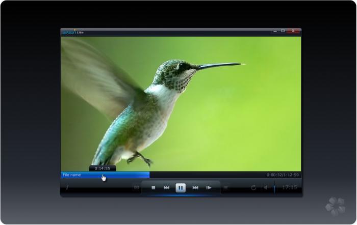 Lettore video HD con risparmio energetico