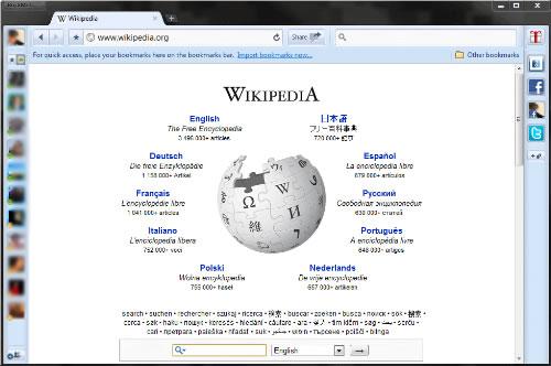 RockMelt il browser per social network