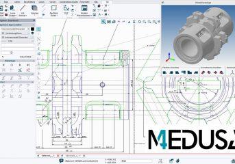 MEDUSA4: software per la modellazione 2D e 3D