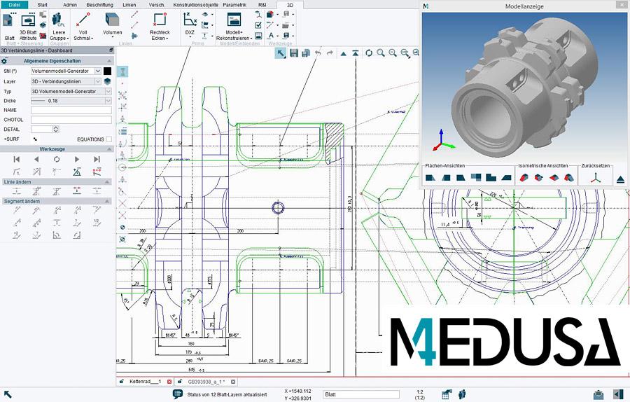 Medusa4 software per la modellazione 2d e 3d for Modellazione 3d gratis