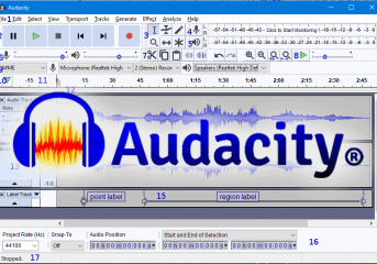 Audacity, editing audio alla portata di tutti