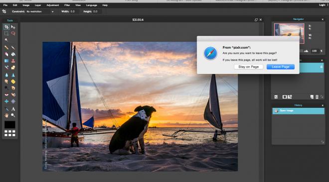 Pixlr: editing fotografico in cloud