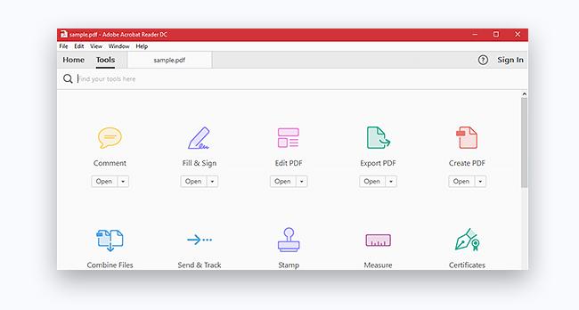 Adobe Reader, il visualizzatore PDF più diffuso