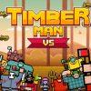 Timberman, un gioco vecchio stampo