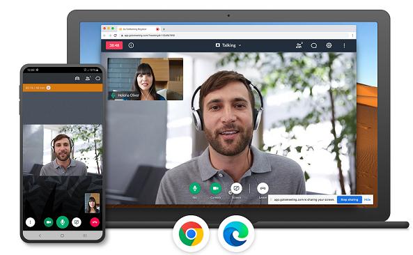 GoToMeeting chiamate video gratuite