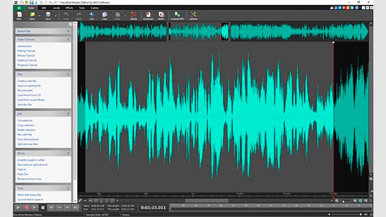 6 Software Gratuiti Di Registrazione Podcast nel 2020 - WavePad