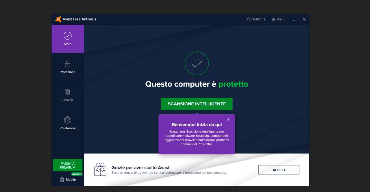 Il Miglior Antivirus Gratis Del 2020: 6 Software Per La Sicurezza Online - Avast Free