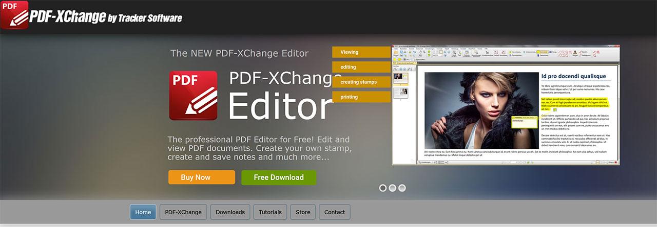 Modificare PDF Gratis: Migliori Editor PDF Del 2020: PDF-XChange Editor