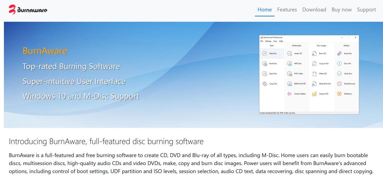I Migliori Software Gratuiti Per Masterizzare DVD e CD Nel 2021: BurnAware Free