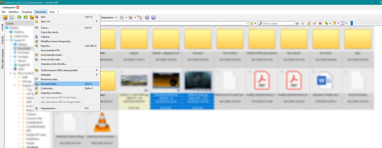 Come Convertire Molte Immagini Contemporaneamente Con XnViewMP