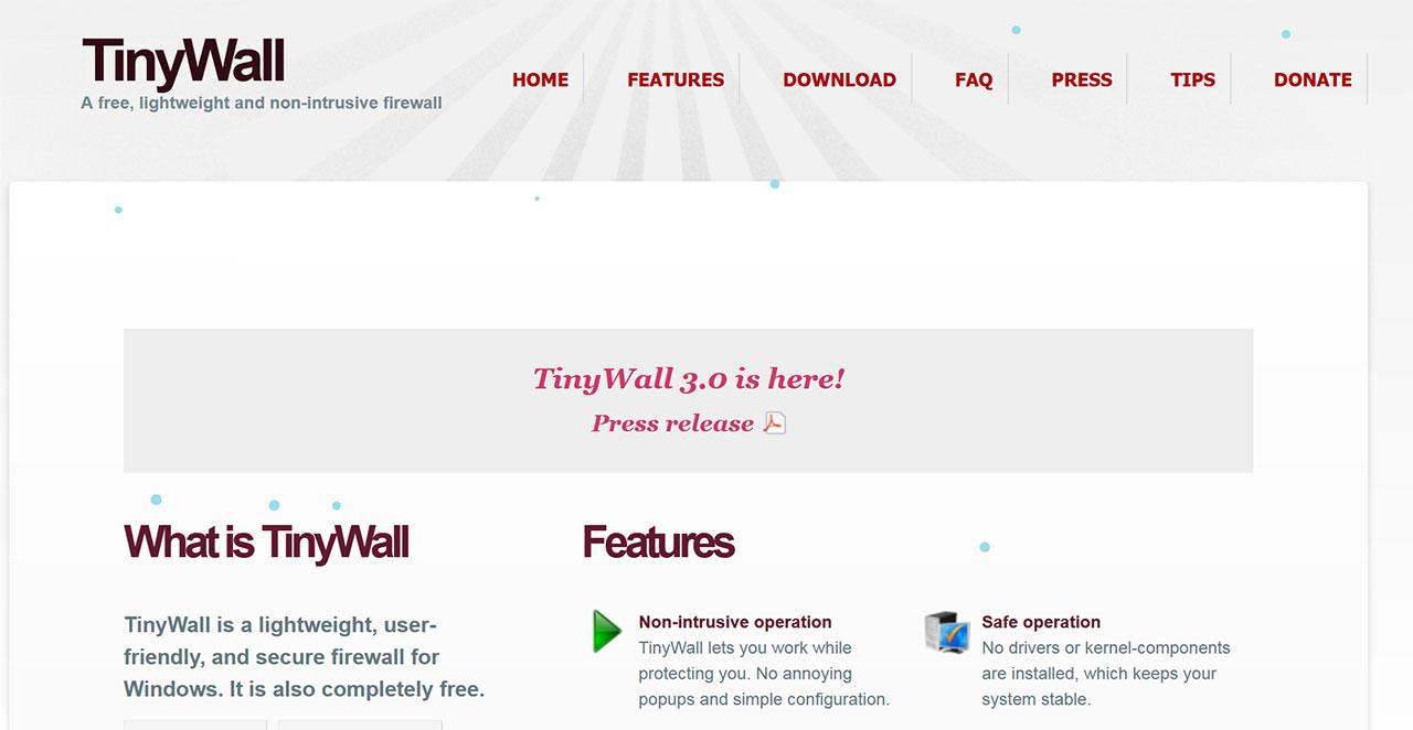 I Migliori Firewall Gratuiti Per Il 2021: Sophos XG Firewall Home Edition: TinyWall