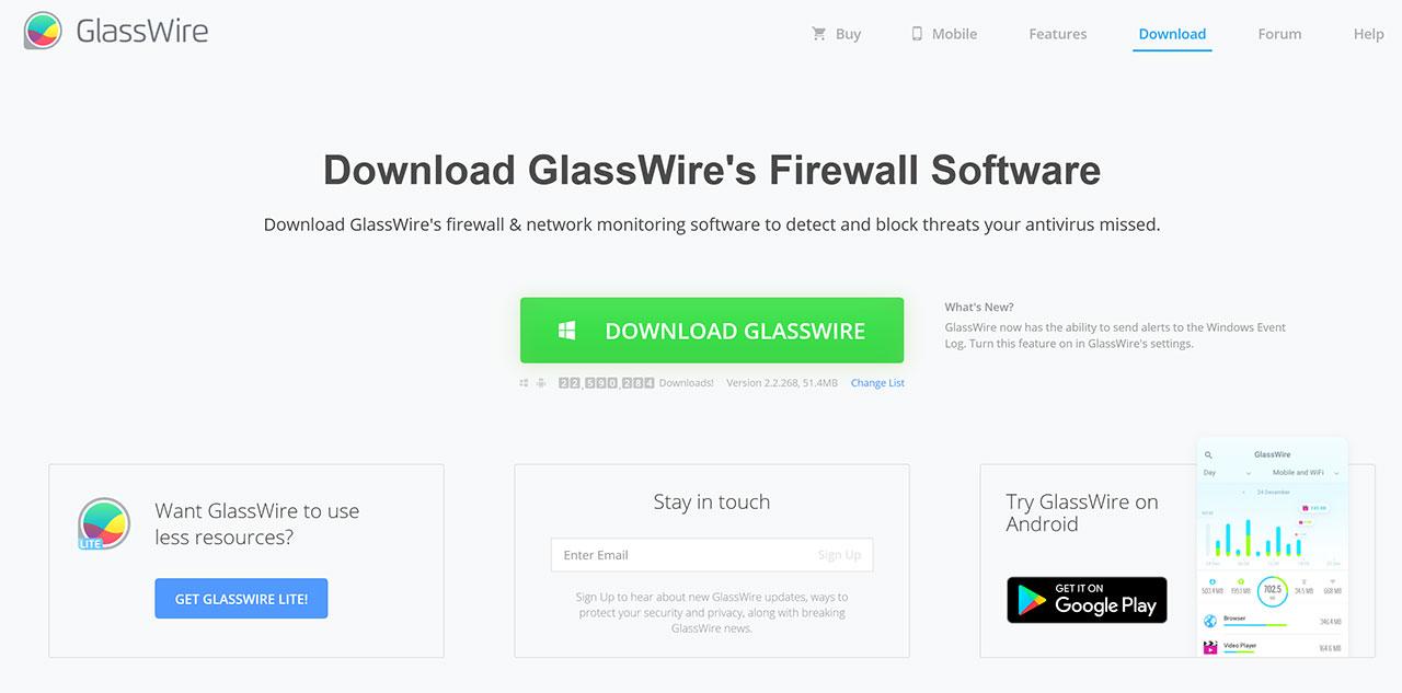 I Migliori Firewall Gratuiti Per Il 2021: Sophos XG Firewall Home Edition: GlassWire