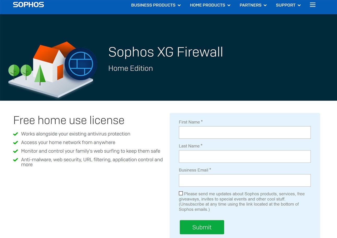 I Migliori Firewall Gratuiti Per Il 2021: Sophos XG Firewall Home Edition