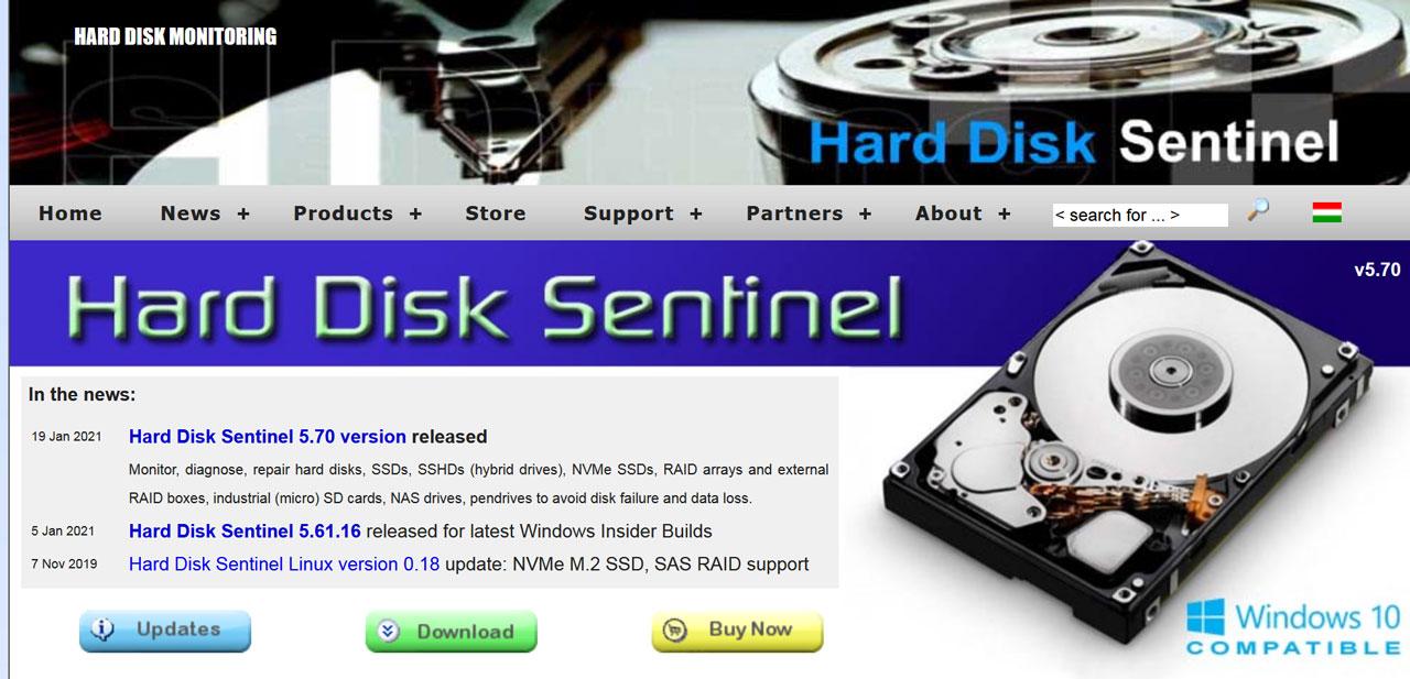 I Migliori Software Per Controllare Lo Stato Di Salute Del Disco Fisso: Hard Disk Sentinel