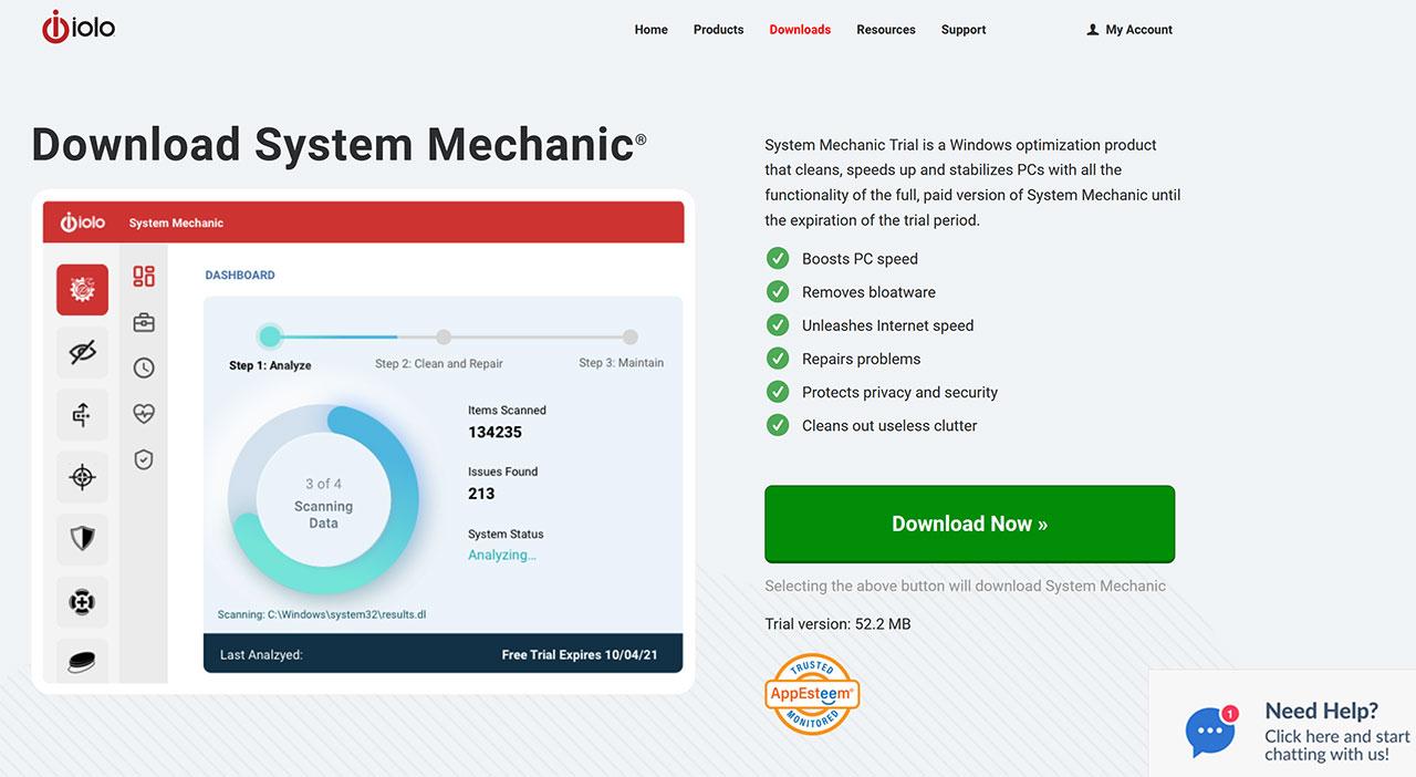 I Migliori Software Per Controllare Lo Stato Di Salute Del Disco Fisso: Iolo System Mechanich