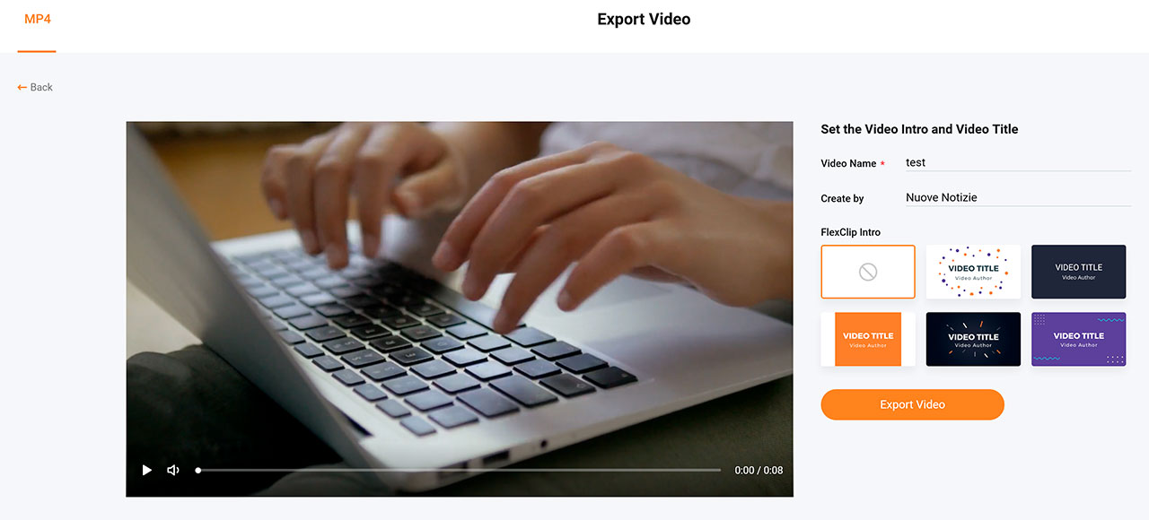 Come Creare Fantastici Video Gratis: FlexClip Video Editor