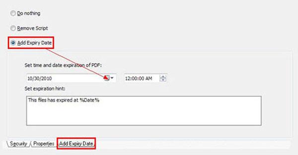 Come Creare Un PDF Con Scadenza Con A-PDF Security