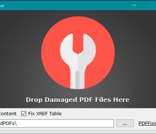 Come Riparare Documenti PDF con PDF Fixer